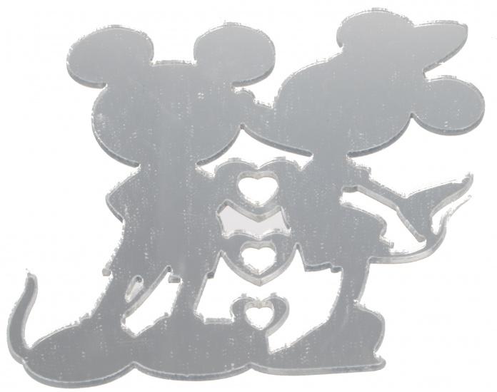 Disney Minnie Mouse Spiegel Stickers 4 stuks