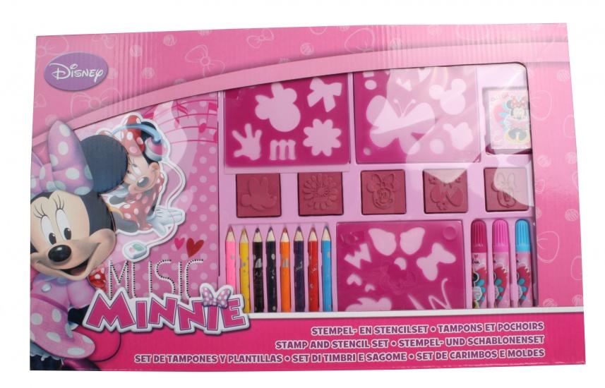 Disney Minnie Mouse Stempel en kleurset 22 delig