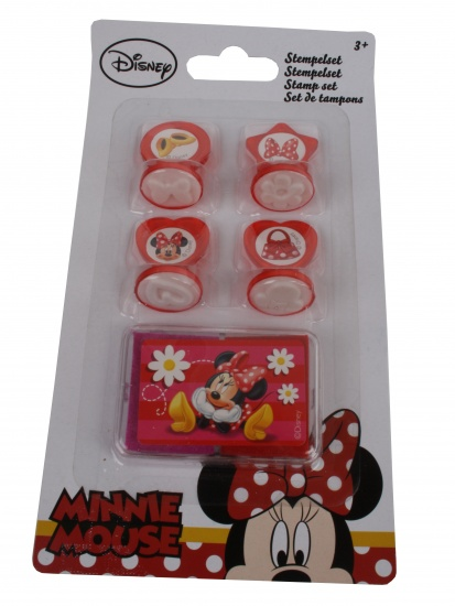 Disney Minnie Mouse Stempelset 5 stuks