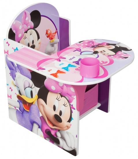 Disney Minnie Mouse Stoel Met Bureau Roze