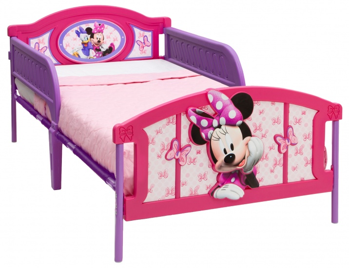 Disney Minnie Mouse Twin Bed Roze