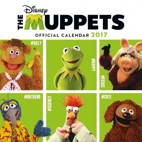 Disney Muppets kalender 2017 30 x 30 cm