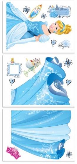 Disney Muursticker Assepoester 122 cm