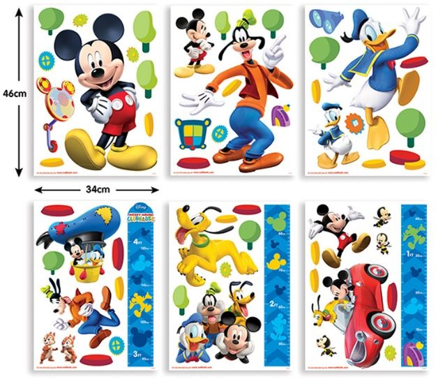 Disney Muursticker Mickey Mouse 58 stickers