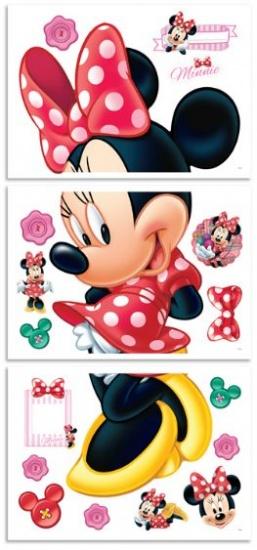 Disney Muursticker Minnie Mouse 122 cm