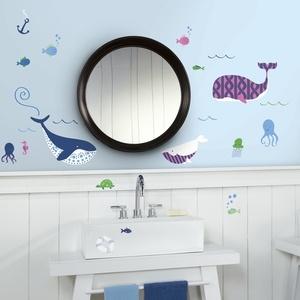 Disney Muursticker RoomMates: Sea Whales