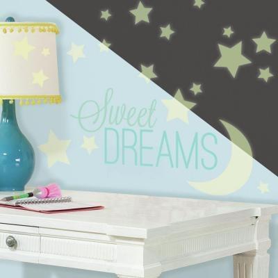 Disney Muursticker RoomMates: Sweet Dreams glow