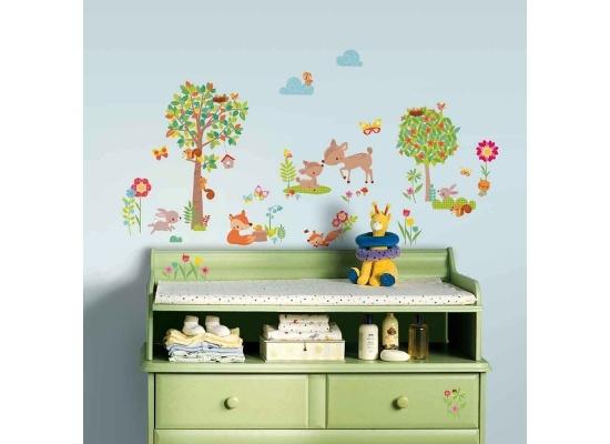 Disney Muursticker RoomMates: Woodland Creatures