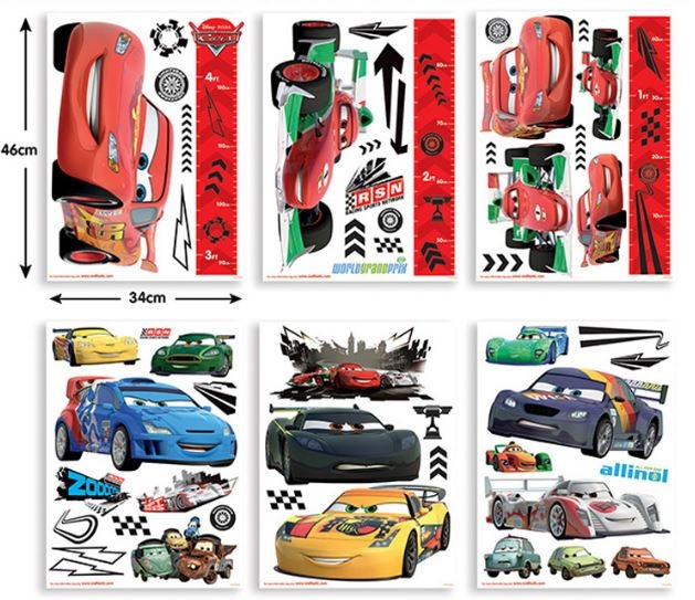 Disney Muurstickers Cars 78 stickers