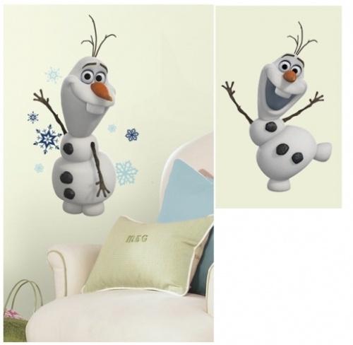 RoomMates muurstickers Olaf de sneeuwman