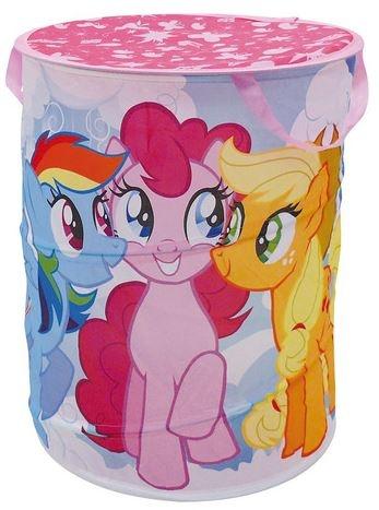 Disney My little Pony wasmand Pop Up meisjes blauw 38 x 50 cm