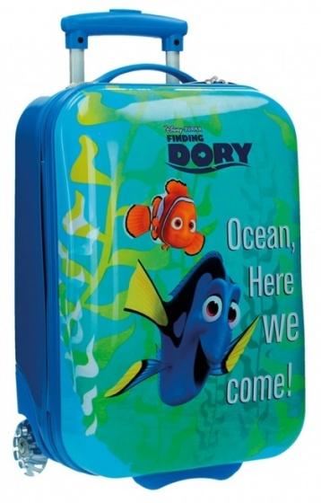 Disney Nemo Finding Dory trolley 50 x 30 x 20 cm blauw