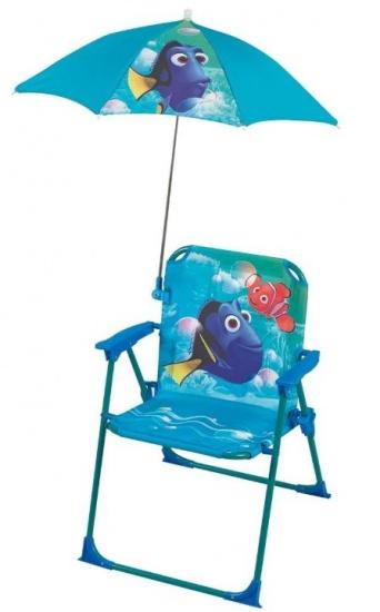 Disney Nemo Stoel met Parasol meisjes blauw