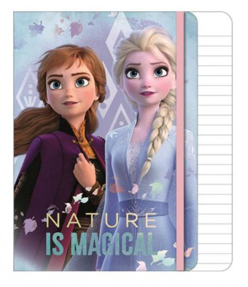 Disney notitieboekje A5 Frozen 14,5 x 21 cm papier-folie