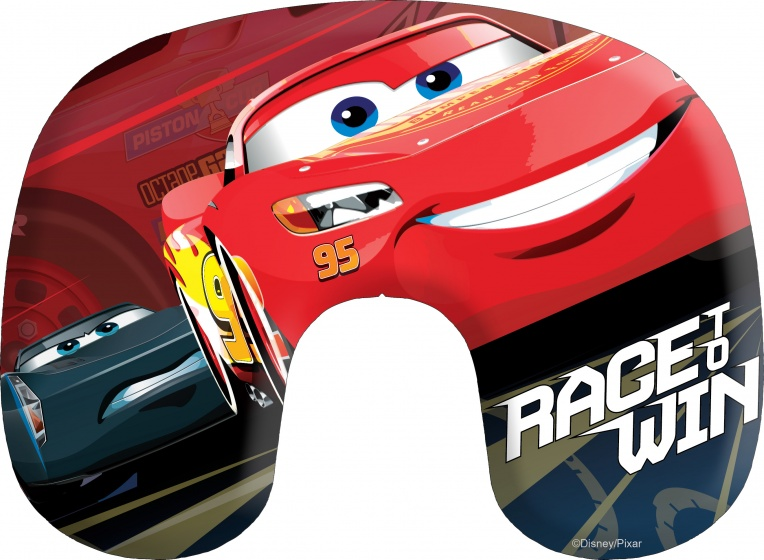 Disney opblaasbaar nekkussen Cars 28 cm rood kopen