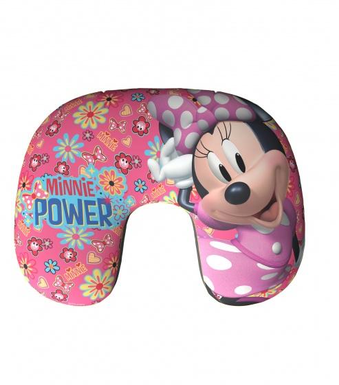 Disney opblaasbaar nekkussen Minnie 28 cm roze kopen