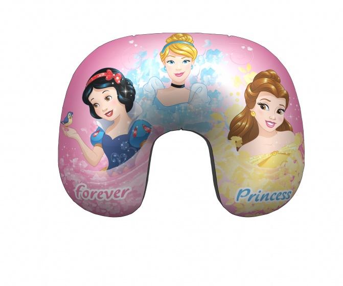 Disney opblaasbaar nekkussen Princess 28 cm roze kopen