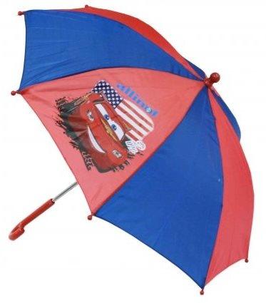 Disney Paraplu Cars 65 cm rood/blauw