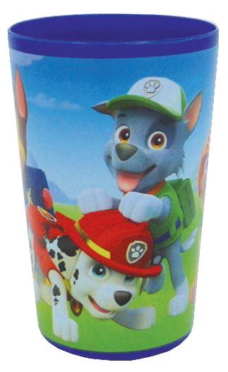 Nickelodeon Paw Patrol beker kunststof blauw 220 ml