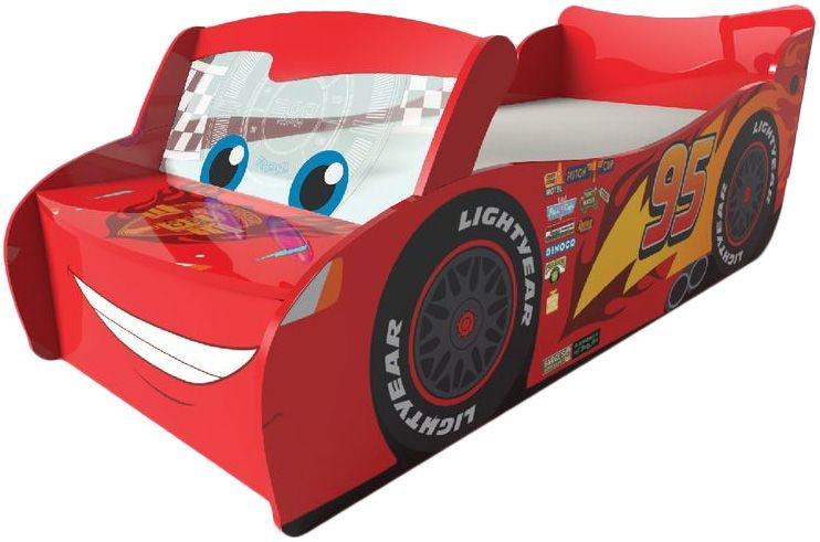 Disney peuterbed Cars jongen 170 x 77 x 54 cm rood