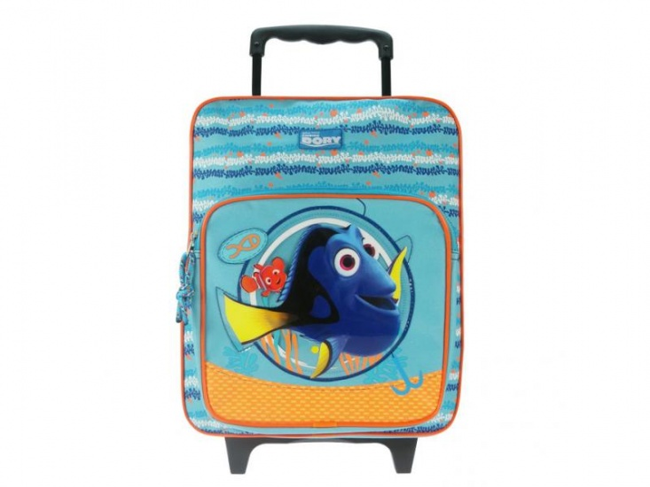 Disney Finding Dory Love to Swim Trolley rugzak 11.5L blauw