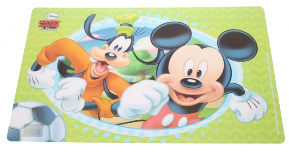 Disney placemat Mickey Mouse 3D PVC 55 x 35 cm groen