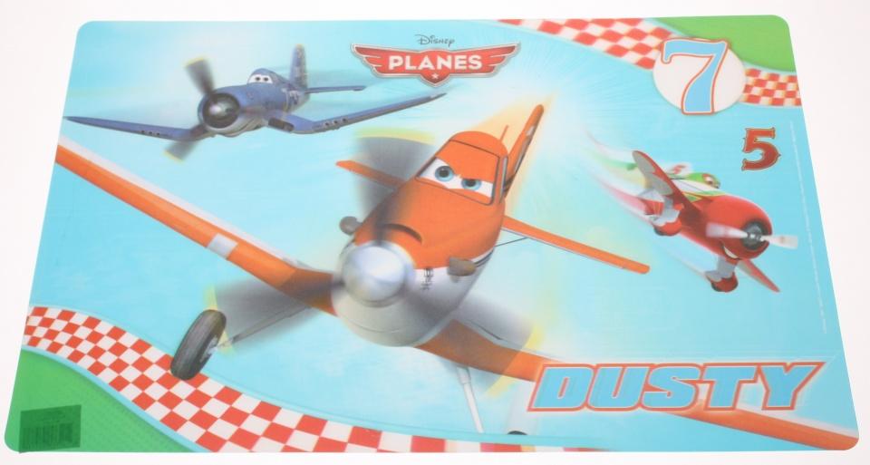Disney placemat Planes 3D PVC 55 x 35 cm blauw