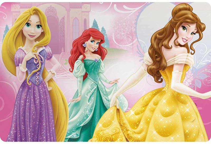 Disney placemat Princess 45 x 30 cm