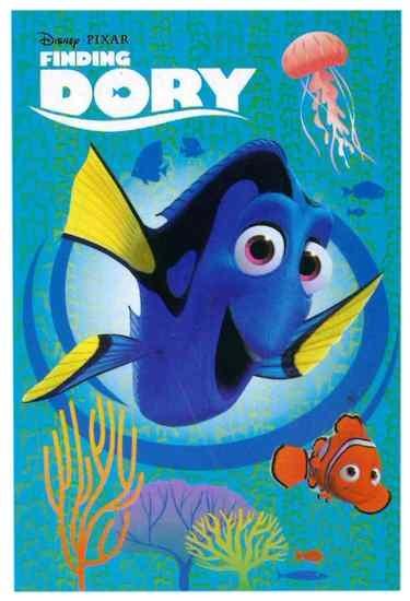 Disney Plaid Finding Dory 100 x 150 cm blauw
