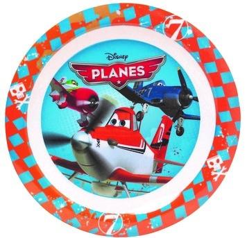Disney Planes bord 22 cm blauw/rood