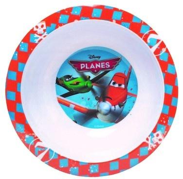 Disney Planes kom 16 cm blauw/rood