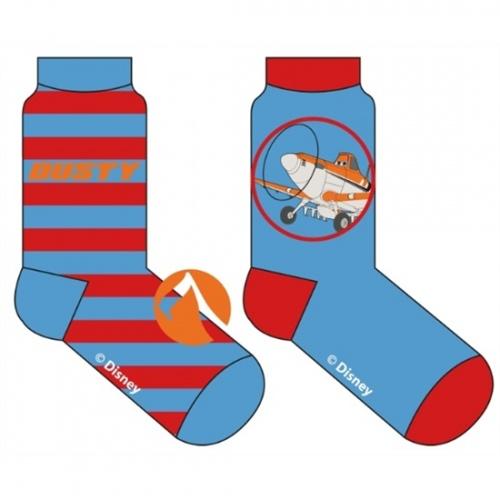 Disney Planes Sokken 2 Pack Blauw/Rood Maat 31/34