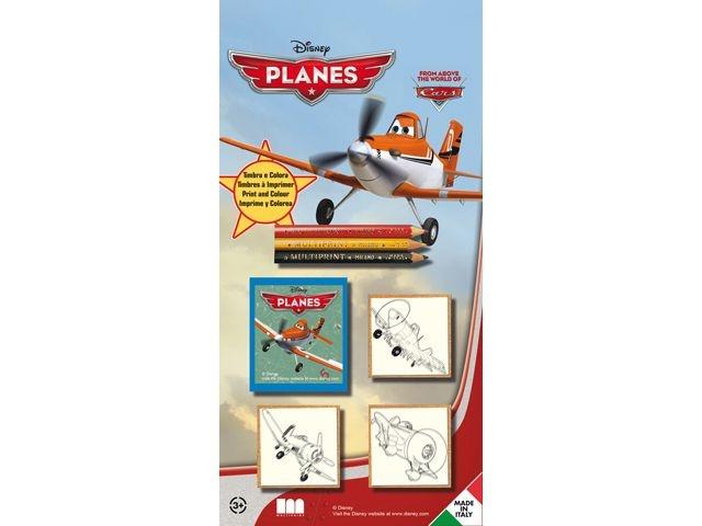 Disney Planes Stempelset 5 Delig