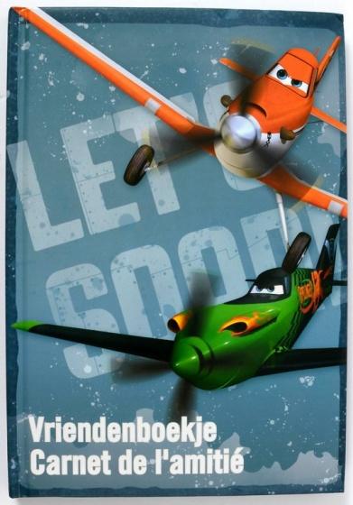 Disney Planes vriendenboek (NL/FR)