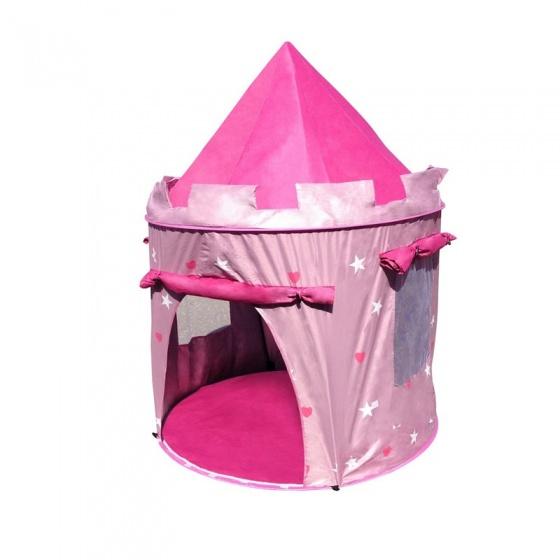 Amleg pop up speeltent roze 104 x 140 cm