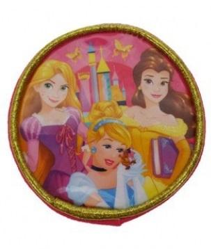 Disney Portemonnee Princess rond diameter 9 cm roze