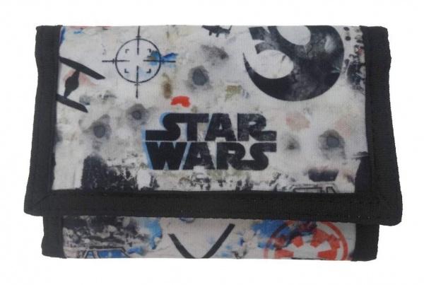 Disney Portemonnee Star Wars 25 x 13 cm zwart/wit