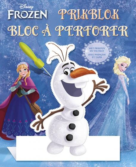 Disney prikblok Frozen met prikpen en viltmat 22 cm