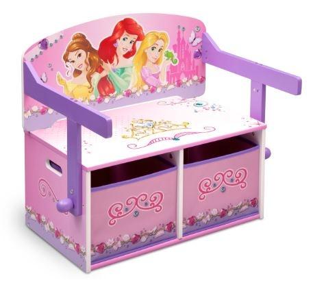 Disney Princess 3 in 1 Opbergbank 62 x 43 x 57 cm paars roze