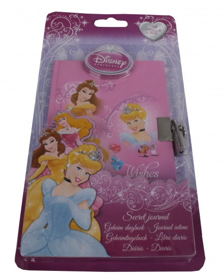 Disney Princess Dagboek met slot