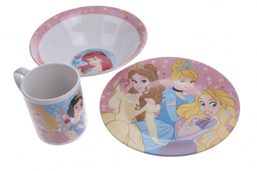 Disney Princess eetset 3 delig