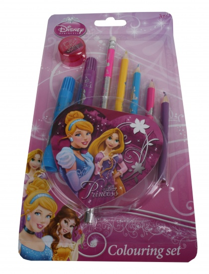 Disney Princess Fun Kleurset 10 delig