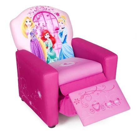Disney Princess Gestoffeerde Stoel Roze 58 x 40 x 43 cm