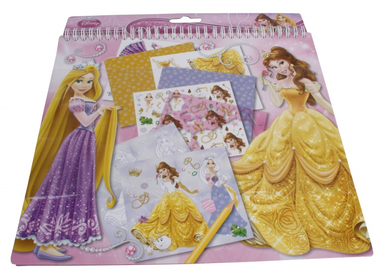 Disney Princess Knutselboek met stickers