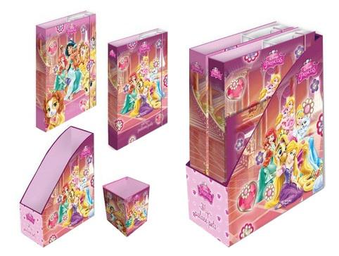 Disney Princess Mappen set met pennenbakje