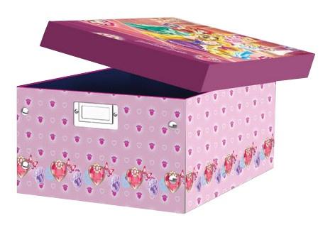 Disney Princess Opbergbox roze/paars 32 x 23 x 15 cm