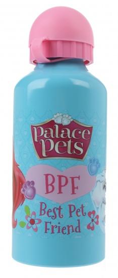 Disney Princess Palace Pets aluminium bidon 600 ml lblauw