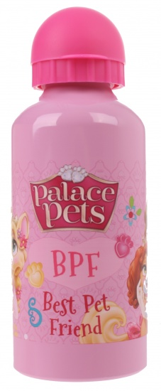 Disney Princess Palace Pets aluminium drinkfles 600 ml roze