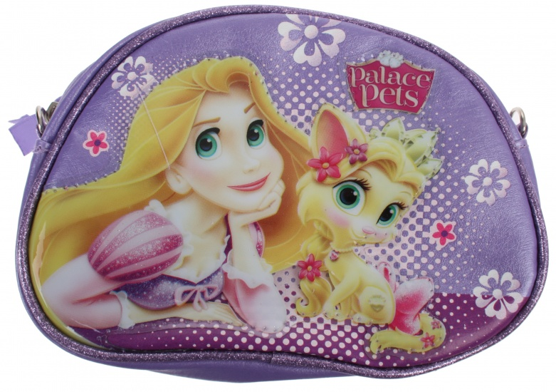 Disney Princess Palace Pets beautycase paars 17 x 12,5 cm