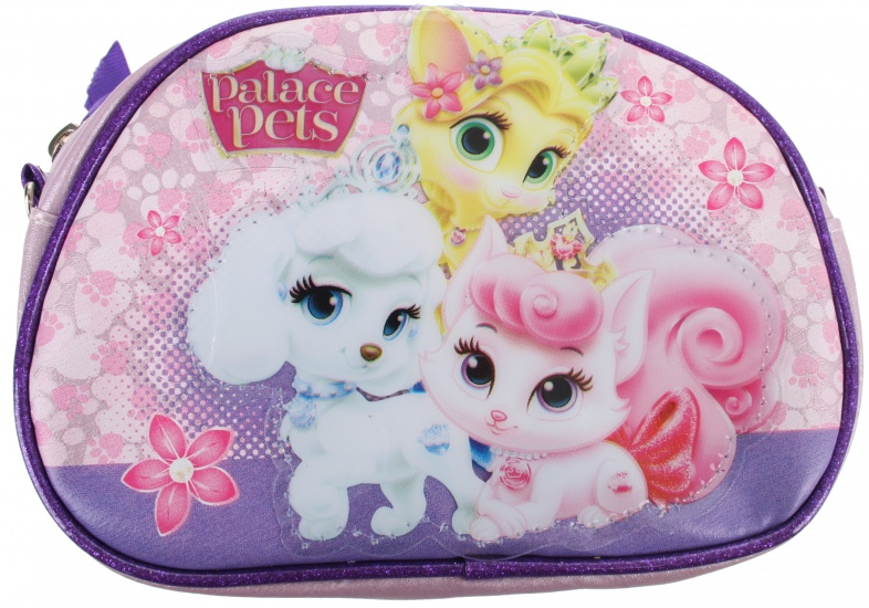 Disney Princess Palace Pets beautycase roze 17 x 12,5 cm